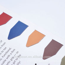 2015 China Supplier promotional full color print folding magnetic bookmark