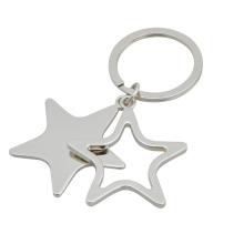 Llavero con forma de estrella, llavero hueco (GZHY-KA-030)