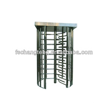 waist height turnstile with 304 stainless steel