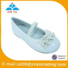 Plain White School Zapatos