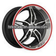 14-дюймовые черные красивые хромированные колесные диски для Toyota