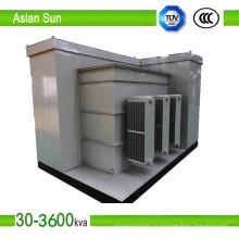 Американские поле Тип подстанции трансформатор для электростанции (400kVA-3150kVA)