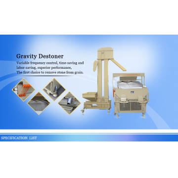 옥수수 씨 Gravity Destoner Machine