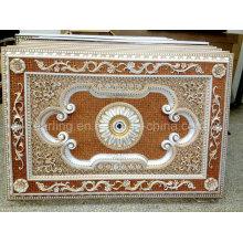 Baumaterial künstlerische Decke Medaillon Yiwu Factory Günstige Preis 1218