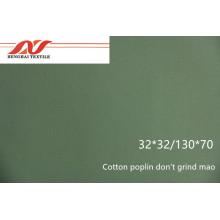Popelín de algodón don't grind mao 32x32 / 130x70 140gsm 57/58