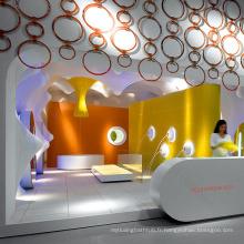 2015 Nouveau design moderne salon de bureau, des comptoirs d'accueil de salon de beauté, des comptoirs d'accueil pour les salons