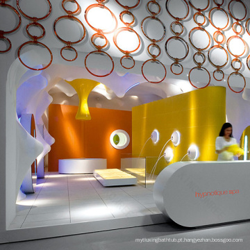 2015 Novo design Moderno salão de beleza, balcões de recepção para salões de beleza, balcões de recepção para salões de beleza