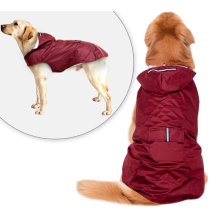 Reflective Large Dog Raincoat