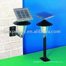 Plastic Solar LED Garden Lamp