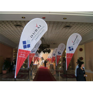 Utomhusreklam Teardrop Flag Banner with Kits