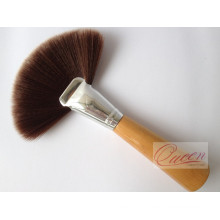 Wooden Handle Sweeper Brush Large Powder Fan Brush