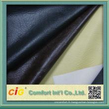 Chine Fournisseur tissu en cuir artificiel pour chaussures