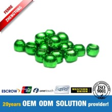 Green Tungsten Ball Beads Tungsten Metallic Beads