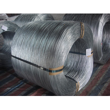 Arame de corda de aço galvanizado de alto carbono com revestimento de zinco