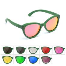 Fabricantes que vendem óculos de aviador feitos sob encomenda de madeira de primeira qualidade retro novos