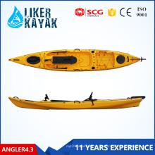 Fischerboot, Plastikangeln-Kajak, sitzen oben Kajak, für Fischer-Mann