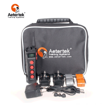 Aetertek AT-919C collar de entrenamiento remoto para perros 2 receptores