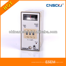 E5EM desvio de temperatura apontar controle