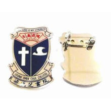 Badges / Accessories metal brass Metal Pin Badges with tran