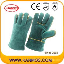 27cm Cowhide Split Leather Industrial Safety Welding Work Gloves (111031-27)