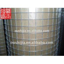 Malha de arame galvanizado quadrado e malha de arame quadrada e malha de arame galvanizado de concreto