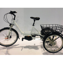 Folding Tricycle Bafang MID-Motor 36V 250W