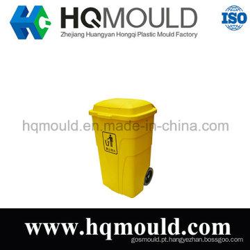 Molde de injeção plástica caixote do lixo para o exterior