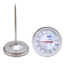 Round Dial Printed Cooking Thermometers