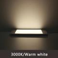 surface ultra thin mini  cabinet panel light