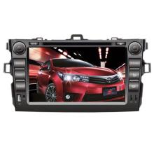 2DIN Car DVD-Player Fit für Toyota Corolla vorderen großen USB-2006-2011 mit Radio Bluetooth-Stereo-TV-GPS-Navigationssystem