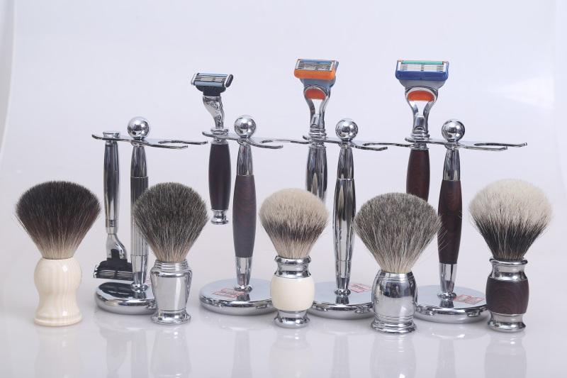 Shaving brush set