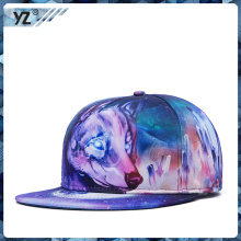 promotinal customized 100% cotton sanpback cap with low price