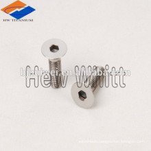 M5 Flat Head Socket Drive Titanium Machine Screw