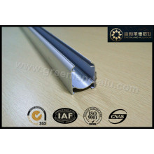 Roman Blind Open Head Track feito de perfil de alumínio com adesivo Hook & Loop para a Europa Gl3001