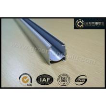 Ромбовидная открытая направляющая, изготовленная из алюминиевого профиля с клейким крючком для Европы Gl3001