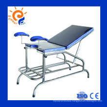 Gynecological Stainless Steel Examination Bed