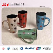 Neue porzellanglasierte Tasse für den täglichen Gebrauch
