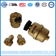 Brass Shell Volumetric Piston Water Meter