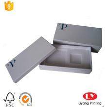 phone cardboard packaging box with foam insert