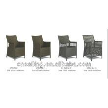 Silla de base de aluminio durable de lujo de fácil limpieza