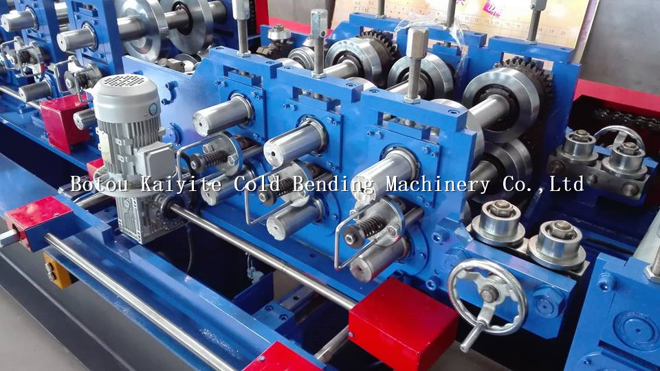 Galvanized Steel Profile C Channel Cold Roll Forming Machine