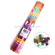 Popper comprimido aire del confeti del partido de la alta calidad con el precio bajo para la venta