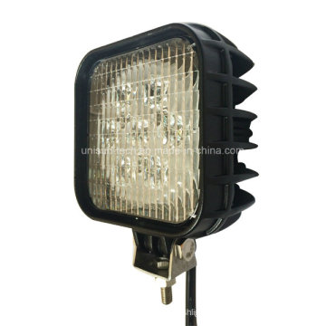 "12V 24V 56W Square 5"" LED Tractor Work Light"