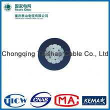 Professional Factory Supply!! High Purity triplex abc cable with aaac bare conductor