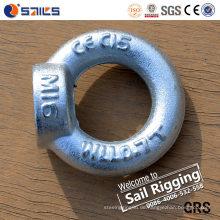Verzinkter Karton-Stahlhebeaugen-Nüsse DIN582