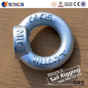 Zinc Plated Carton Steel Lifting Eye Nuts DIN582