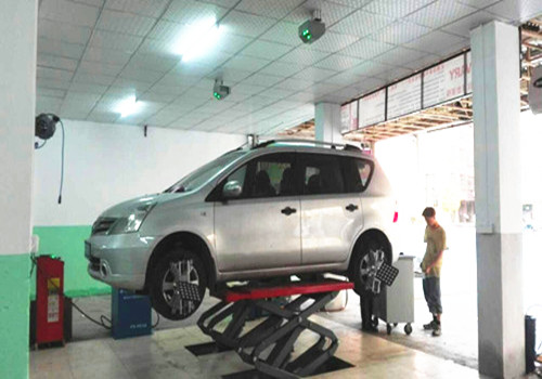Wheel Alignment with WIFI