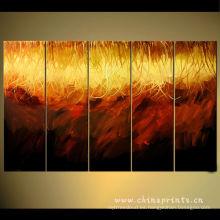 Pintura al óleo moderna