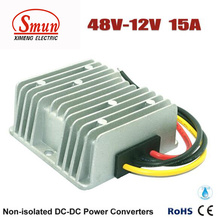 8VDC zu 12VDC 15A 180W DC-DC Konverter mit wasserdichtem IP68