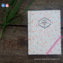 Customized 64k Hardcover Paper Notebook with Elastic Band (XL-64K-YP-01)